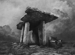 Dolmen and chair